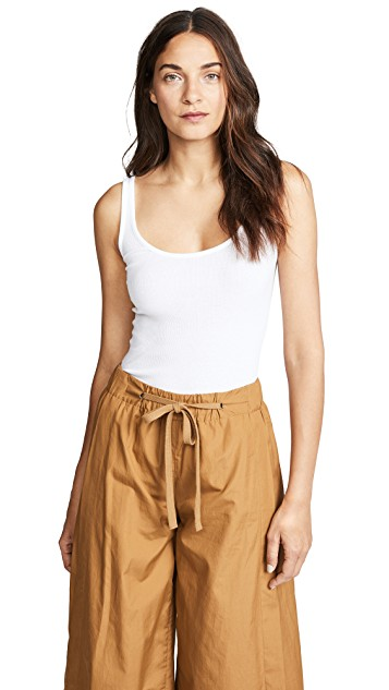 Scoop Neck Tank by Vince, available on shopbop.com for $65 Kourtney Kardashian Top Exact Product