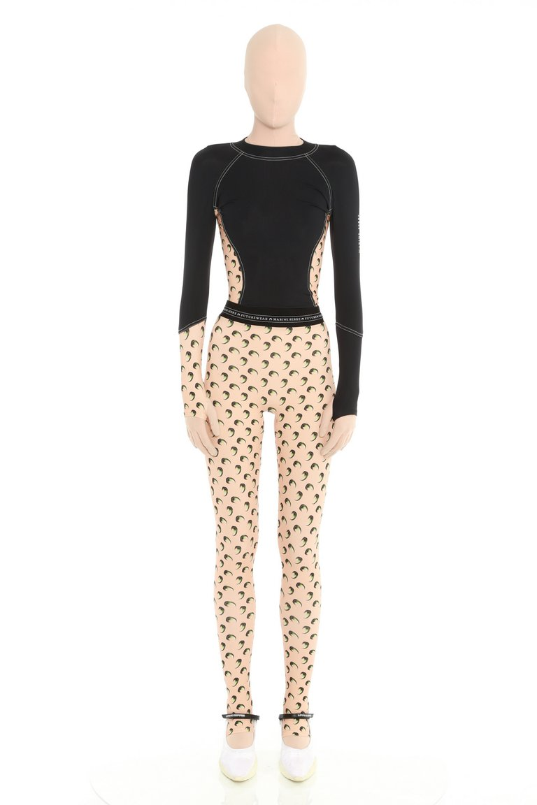 3D Moon Leggings by Marine Serre, available on marineserre.com for EUR325 Kylie Jenner Pants SIMILAR PRODUCT