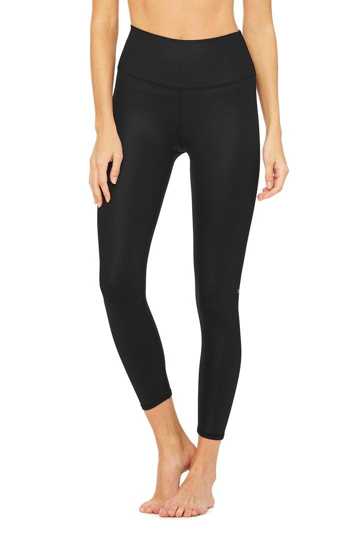 7/8 High-Waist Airbrush Legging - Black by Alo Yoga, available on aloyoga.com for $78 Kylie Jenner Pants SIMILAR PRODUCT