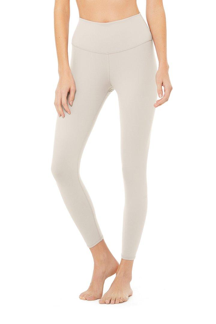 7/8 High-Waist Airbrush Legging - Bone by Alo Yoga, available on aloyoga.com for $78 Kylie Jenner Pants SIMILAR PRODUCT
