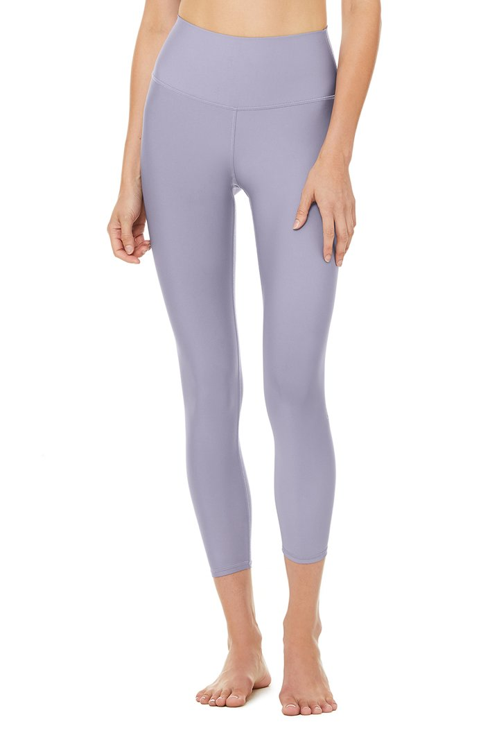 7/8 High-Waist Airlift Legging - Blue Moon by Alo Yoga, available on aloyoga.com for $114 Kylie Jenner Pants SIMILAR PRODUCT