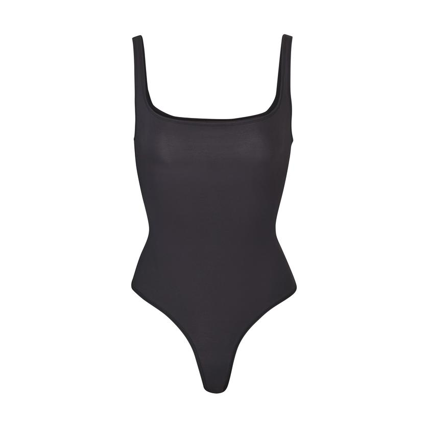 BODY BASICS SQUARE NECK BODYSUIT by Skims, available on skims.com for $61 Kylie Jenner Top SIMILAR PRODUCT