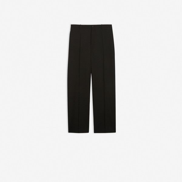 Baggy Small Fit Tailored Pants  Black by Balenciaga, available on balenciaga.com for $1050 Kylie Jenner Pants SIMILAR PRODUCT