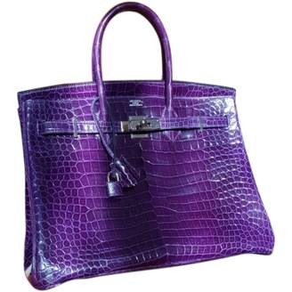 Birkin 35 Purple Crocodile Handbags by Hermes, available on shopstyle.com for $78010 Kylie Jenner Bags Exact Product