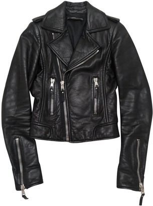 Black Leather Jackets by Balenciaga, available on shopstyle.com for $1573 Kylie Jenner Outerwear SIMILAR PRODUCT