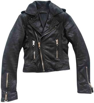 Black Leather Leather jackets by Balenciaga, available on shopstyle.com for $754 Kylie Jenner Outerwear SIMILAR PRODUCT