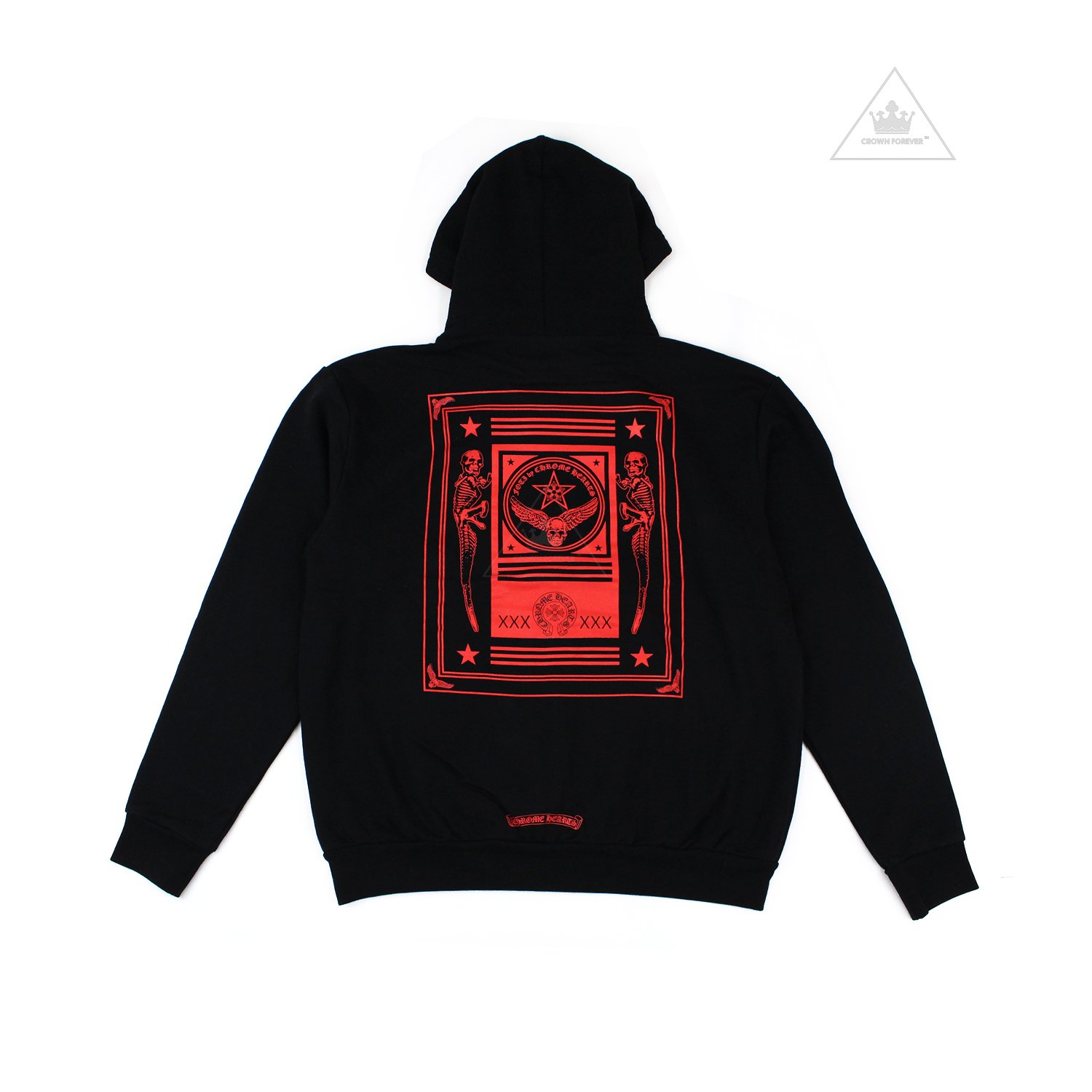 CH Foti Zip Hoodie by CHROME HEARTS, available on crownforeverla.com for $600 Kylie Jenner Outerwear SIMILAR PRODUCT