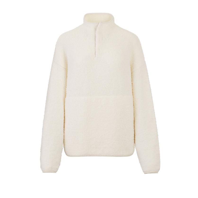 COZY KNIT PULLOVER by Skims, available on skims.com for $76 Kylie Jenner Top Exact Product