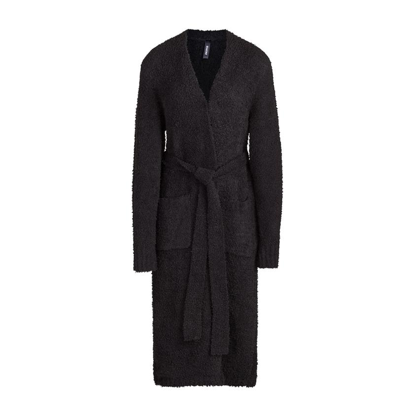 COZY KNIT ROBE by Skims, available on skims.com for $128 Kylie Jenner Top SIMILAR PRODUCT