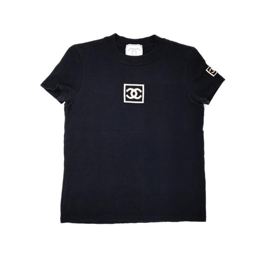 Chanel Sport Black Logo Top by Chanel, available on treasuresofnewyorkcity.com for $780 Kylie Jenner Top Exact Product