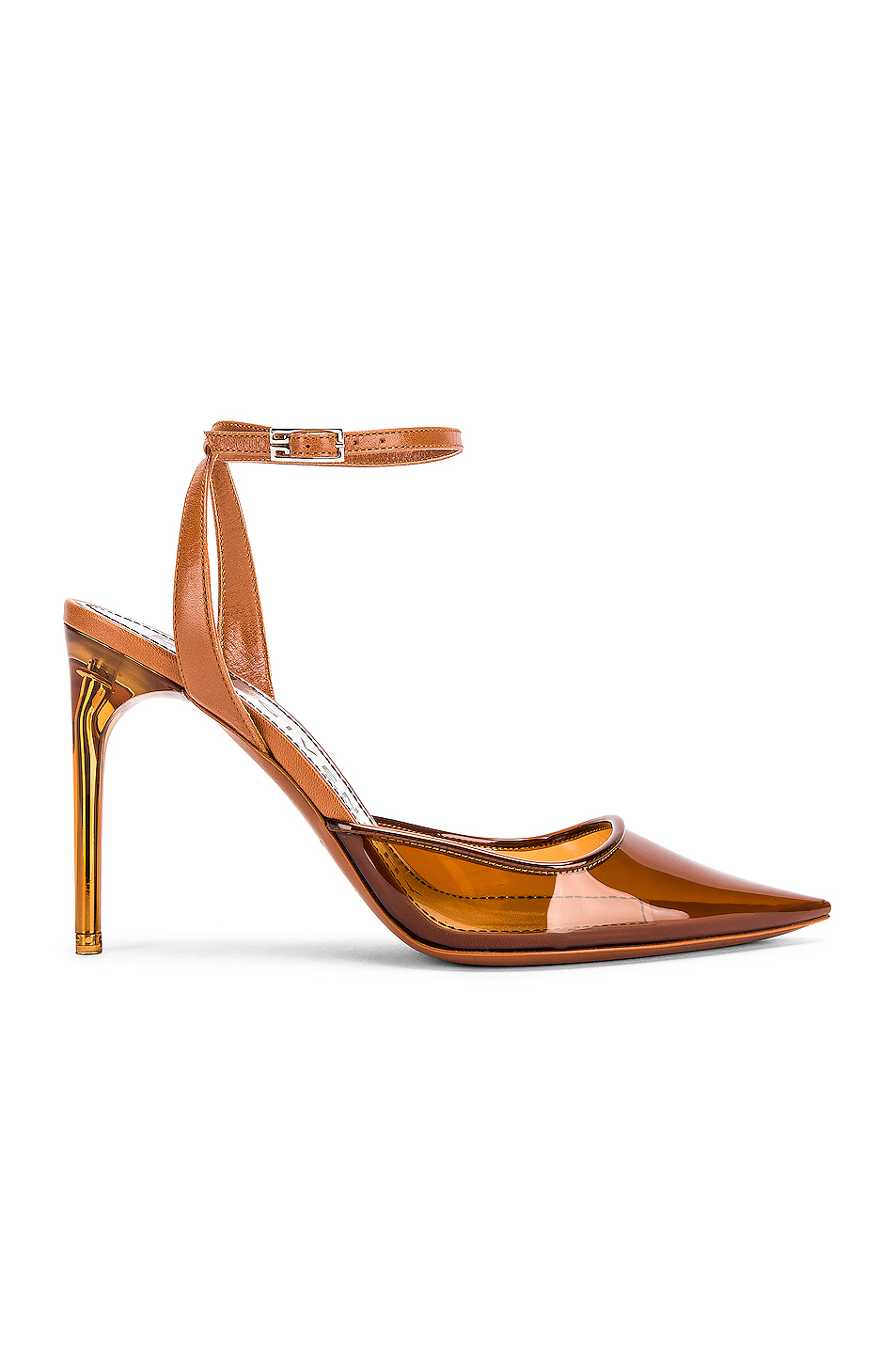 Couture Stiletto Ankle Strap Heels by Givenchy Kylie Jenner Shoes Exact Product