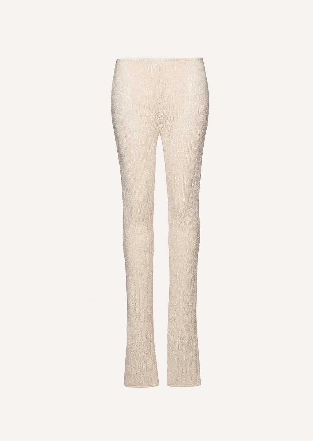 Crochet pants in cream by Magda Butrym, available on magdabutrym.com for $1820 Kylie Jenner Pants Exact Product