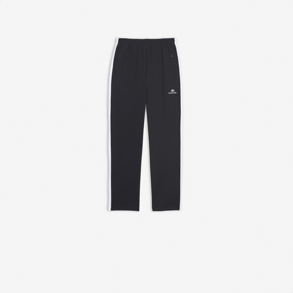 Cropped Tracksuit Pants BLACK / WHITE by Balenciaga, available on balenciaga.com for $850 Kylie Jenner Pants SIMILAR PRODUCT