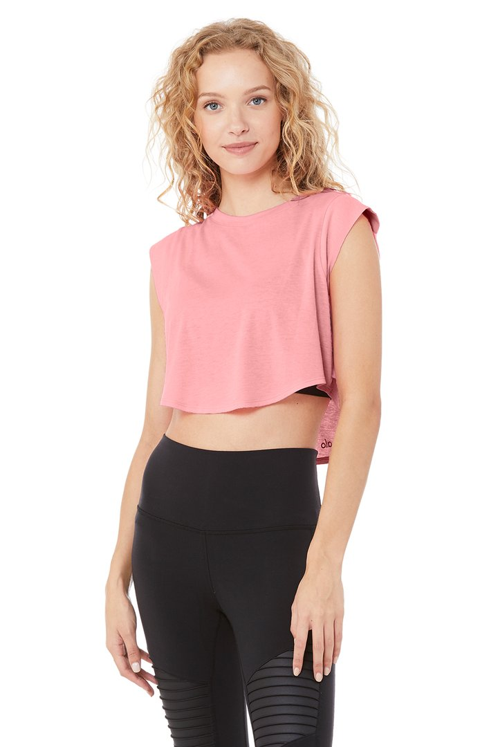 Echo Tee by Alo Yoga, available on aloyoga.com for $54 Kylie Jenner Outerwear SIMILAR PRODUCT