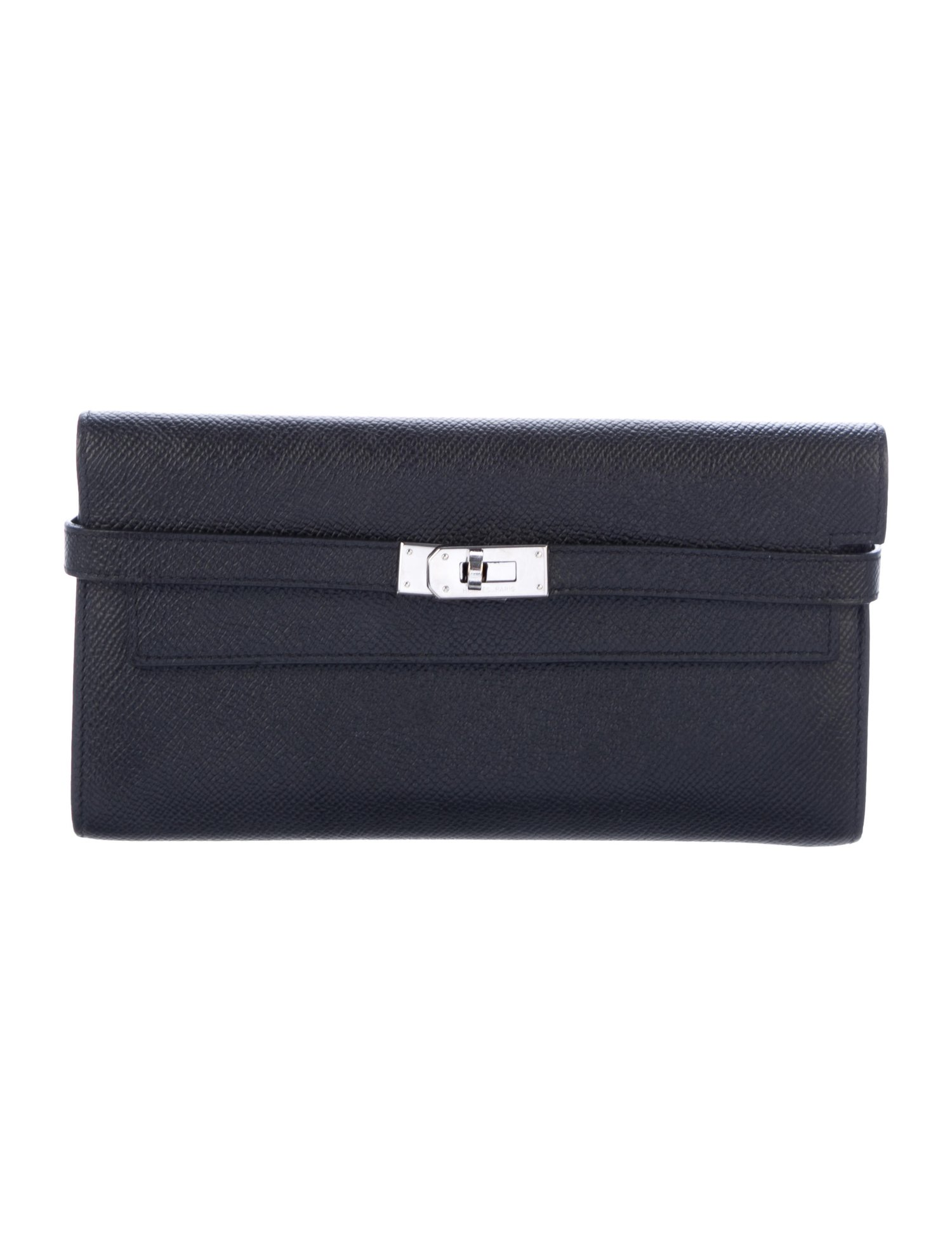 Epsom Kelly Classic Wallet by Hermes, available on therealreal.com for $3000 Kylie Jenner Bags Exact Product