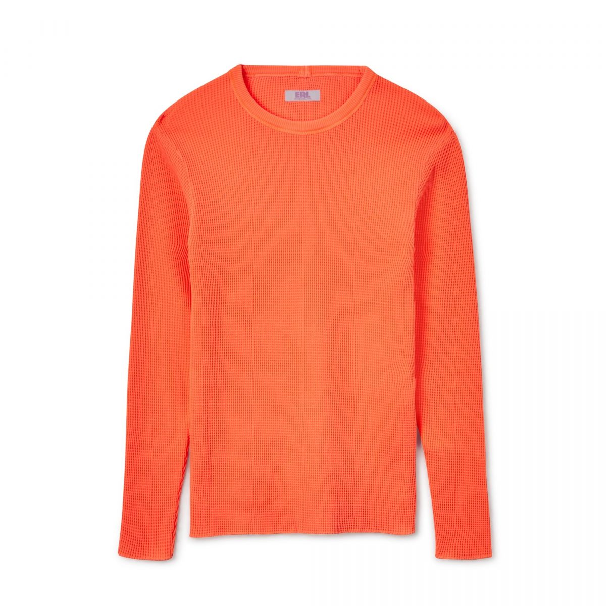 Erl Waffle Long Sleeve Jersey (Neon Orange) by Dsmny E-Shop, available on doverstreetmarket.com Kylie Jenner Top Exact Product