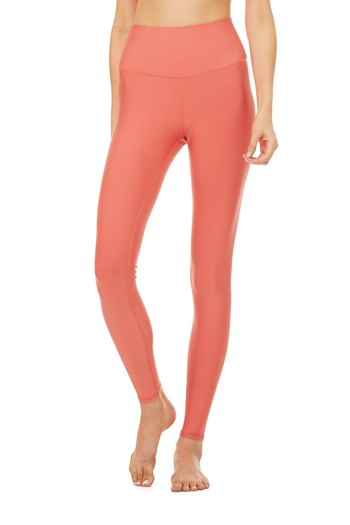 High-Waist Airlift Legging - Strawberry by Alo Yoga, available on aloyoga.com for $118 Kylie Jenner Pants SIMILAR PRODUCT