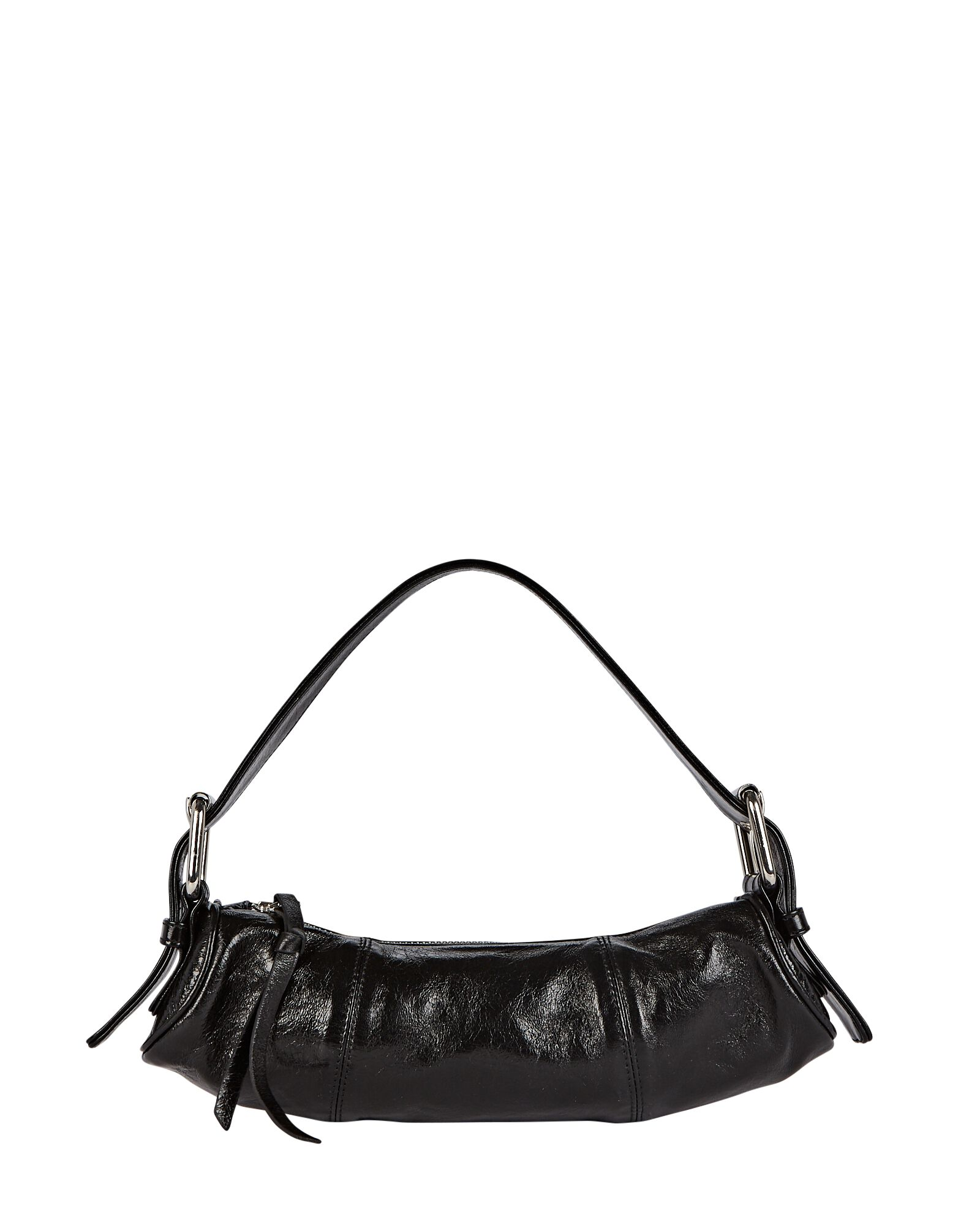 Kubi Cylinder Leather Baguette Bag by By Far, available on intermixonline.com for $480 Kylie Jenner Bags Exact Product