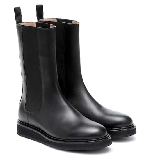 Leather Chelsea boots by Legres, available on mytheresa.com for $539 Kylie Jenner Shoes SIMILAR PRODUCT