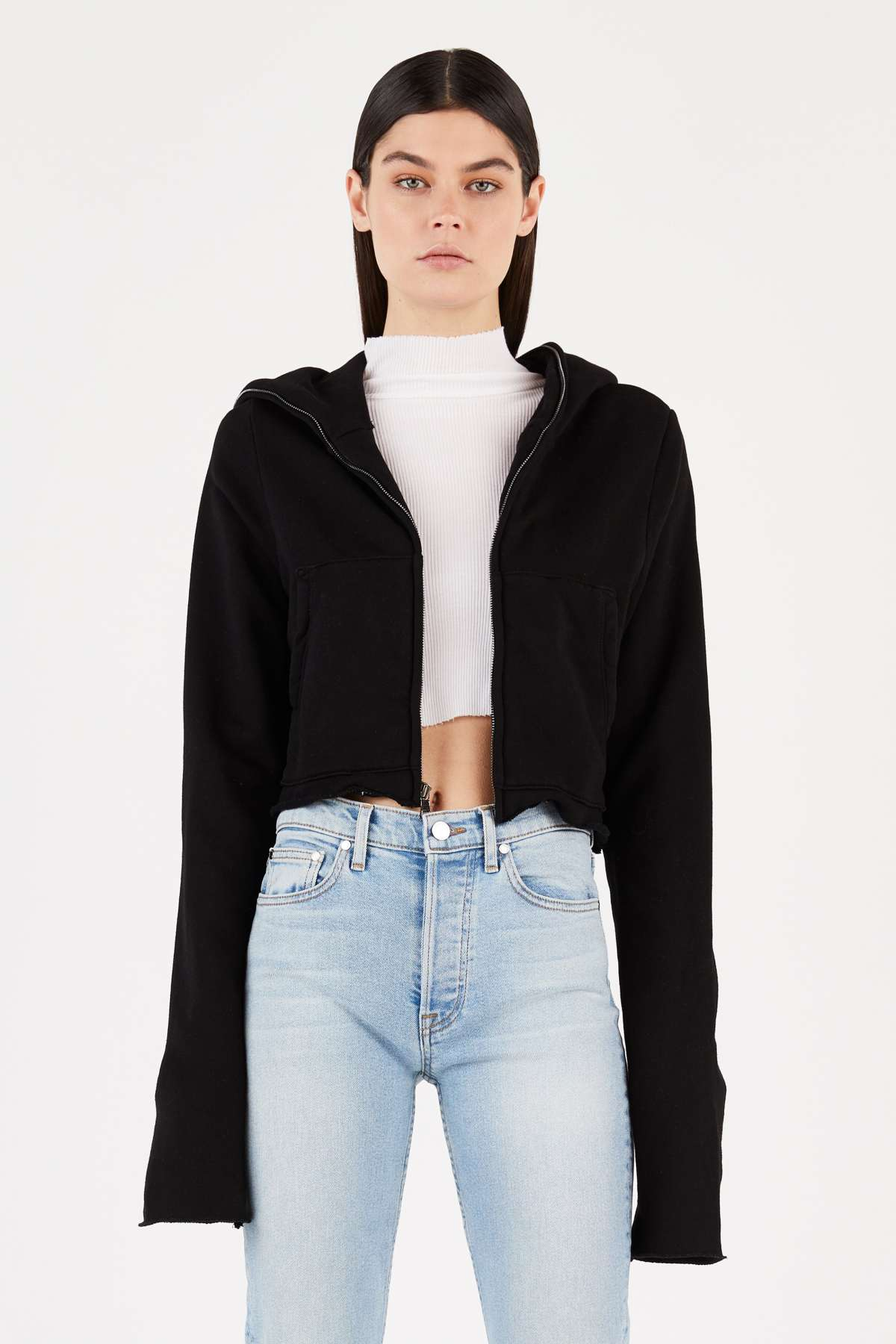 Manhattan Zip Hoodie by Cotton Citizen, available on cottoncitizen.com for $250 Kylie Jenner Top Exact Product