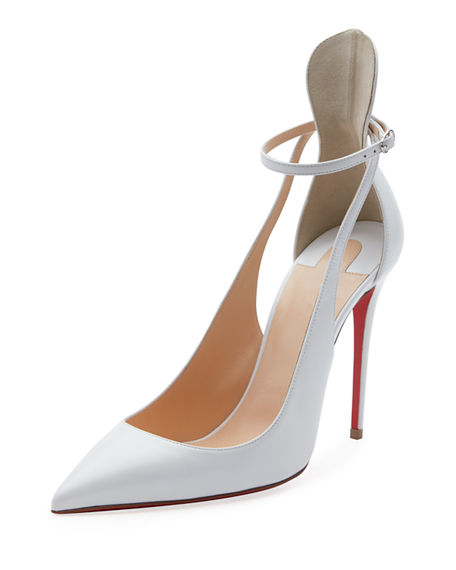 Mascara 100Mm Leather Red Sole Pumps in Latte by CHRISTIAN LOUBOUTIN, available on modesens.com for $895 Kylie Jenner Shoes Exact Product