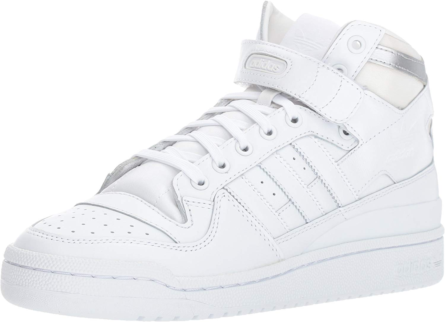 Men's Forum Mid Refined Fashion Sneaker by Adidas, available on amazon.com for $54 Kylie Jenner Shoes Exact Product