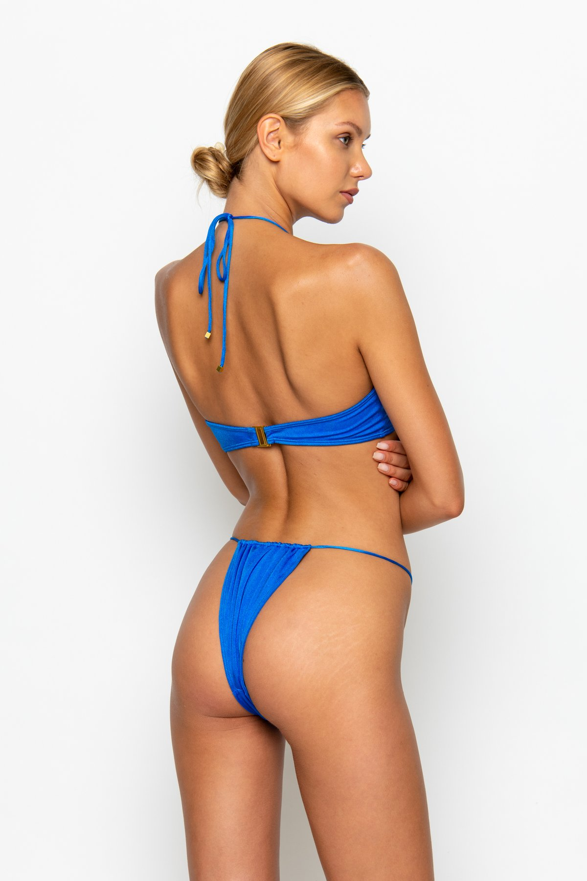 NAOMI SIRIUS - TIE SIDE BIKINI BOTTOMS by Sommer Swim, available on sommerswim.com for $69 Kylie Jenner Shorts Exact Product