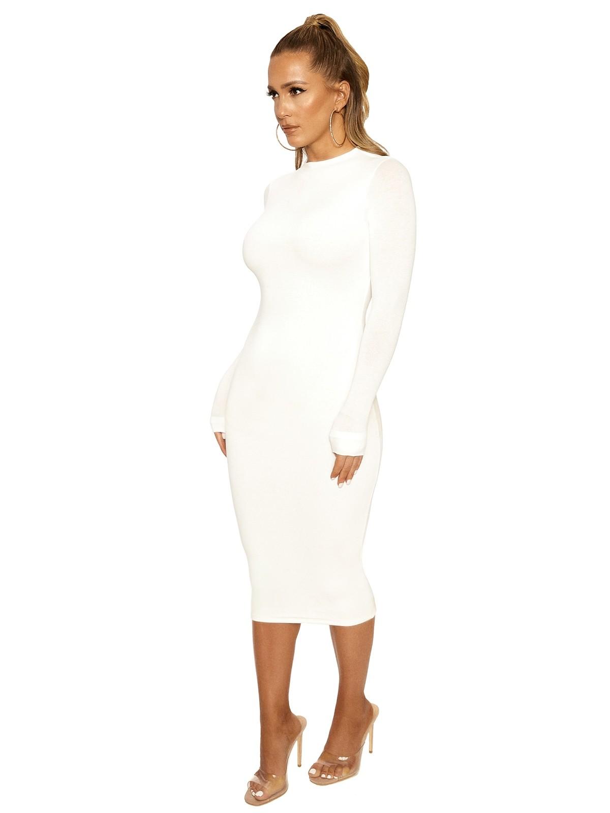 NW Midi Dress by Naked Wardrobe, available on nakedwardrobe.com for $54 Kylie Jenner Dress SIMILAR PRODUCT