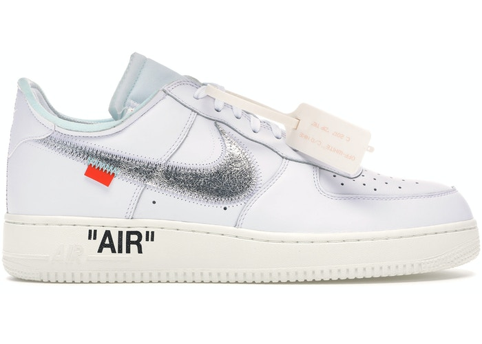 Nike Air Force 1 Low Virgil Abloh Off-White (AF100) by Nike, available on stockx.com for $1000 Kylie Jenner Shoes Exact Product