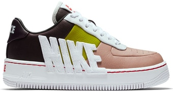Nike Air Force 1 Upstep Force Is Female Port Wine Bright Cactus (W) by Skims, available on stockx.com for $115 Kylie Jenner Shoes SIMILAR PRODUCT