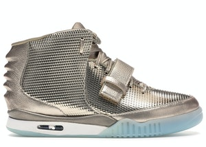 Nike Air Yeezy 2 John Geiger x LASCO Golden Child, available on stockx.com for $8000 Kylie Jenner Shoes SIMILAR PRODUCT