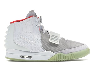 Nike Air Yeezy 2 Pure Platinum, available on stockx.com for $5200 Kylie Jenner Shoes Exact Product