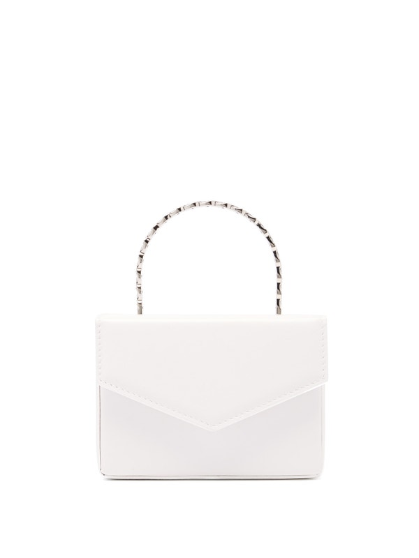 Pernille crystal-handle mini leather box bag by Amina Muaddi, available on matchesfashion.com for EUR437 Kylie Jenner Bags Exact Product