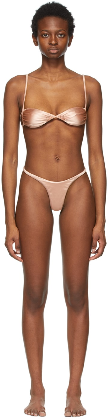 Pink Fawning & Forward Bikini by Isa Boulder, available on ssense.com Kylie Jenner Top Exact Product