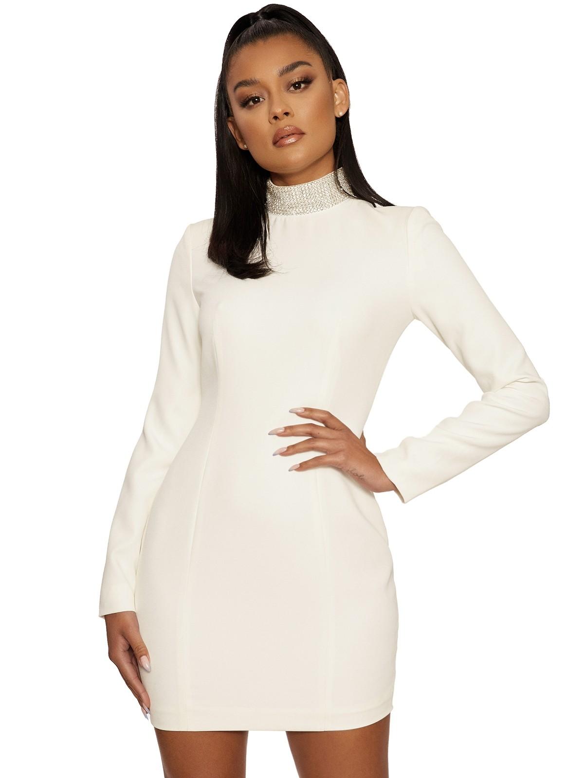 Put A Bling On It Mini Dress by Naked Wardrobe, available on nakedwardrobe.com for $74 Kylie Jenner Dress SIMILAR PRODUCT