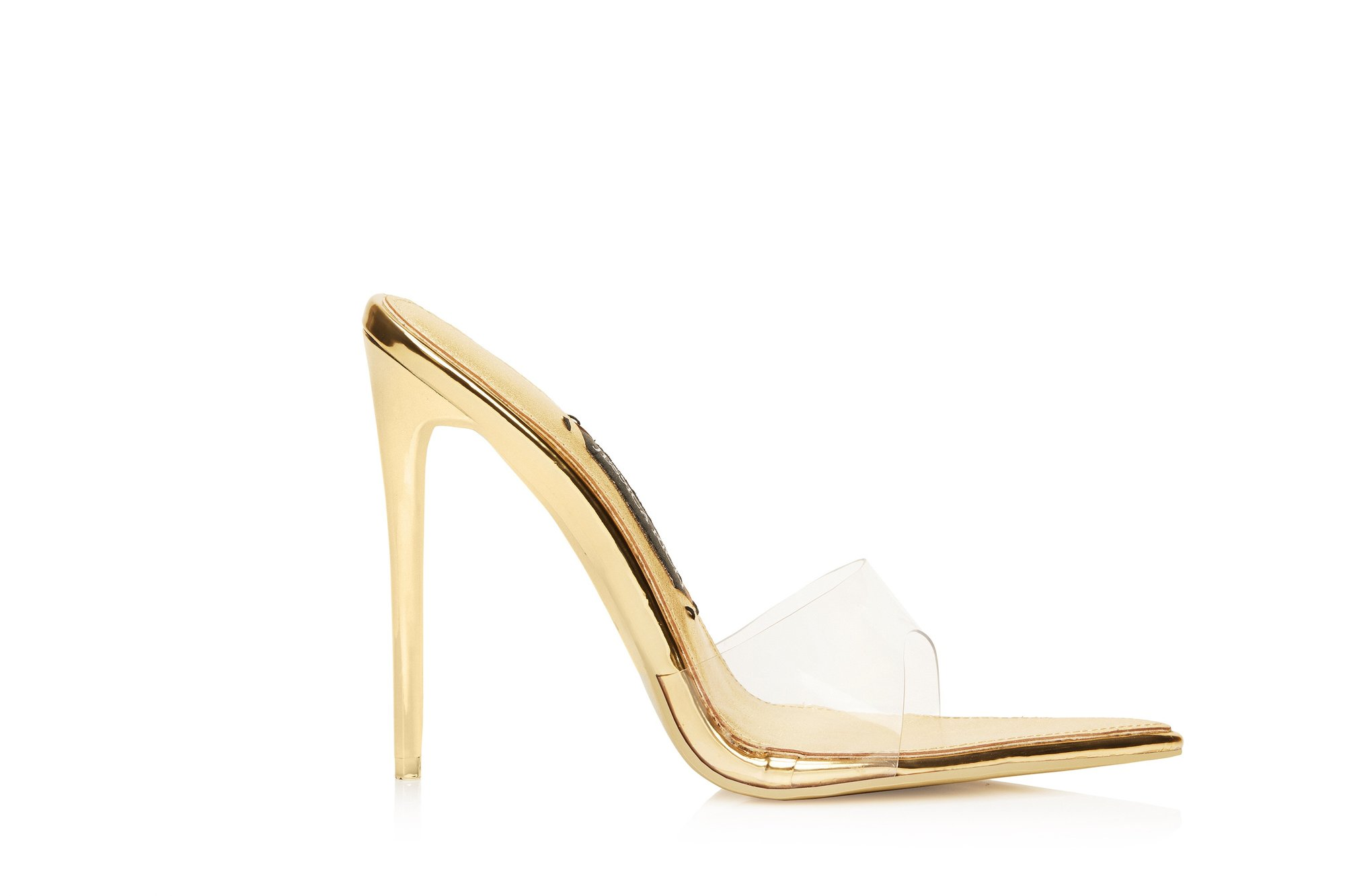 RACY MULE GOLD by JESSICA RICH, available on jessicarich.com for $215 Kylie Jenner Shoes Exact Product