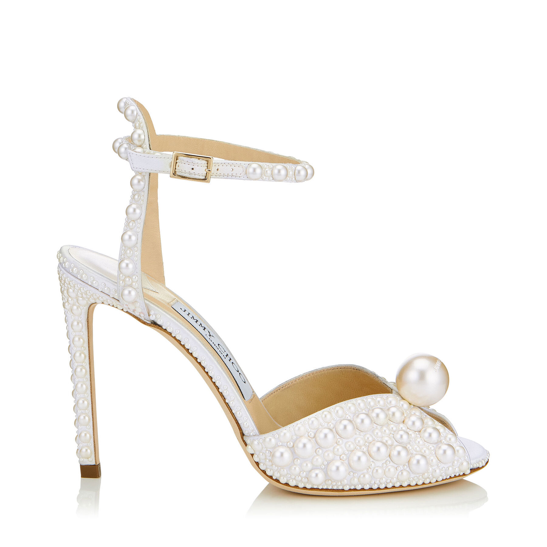 SACORA 100 by Jimmy Choo, available on jimmychoo.com for EUR1595 Kylie Jenner Shoes Exact Product