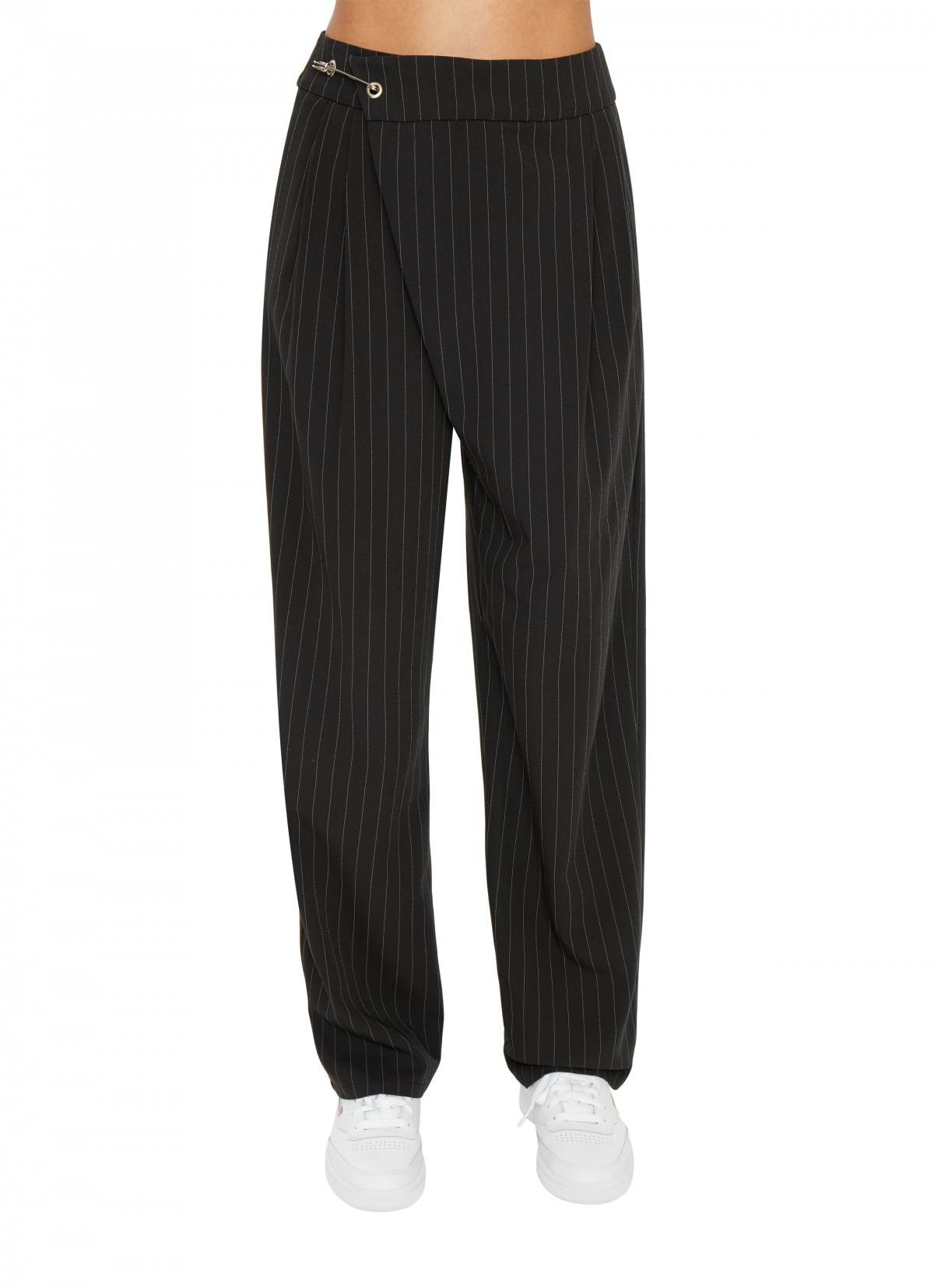 SAFETY PIN TROUSER by Danielle Guizio, available on danielleguiziony.com for $268 Kylie Jenner Pants SIMILAR PRODUCT