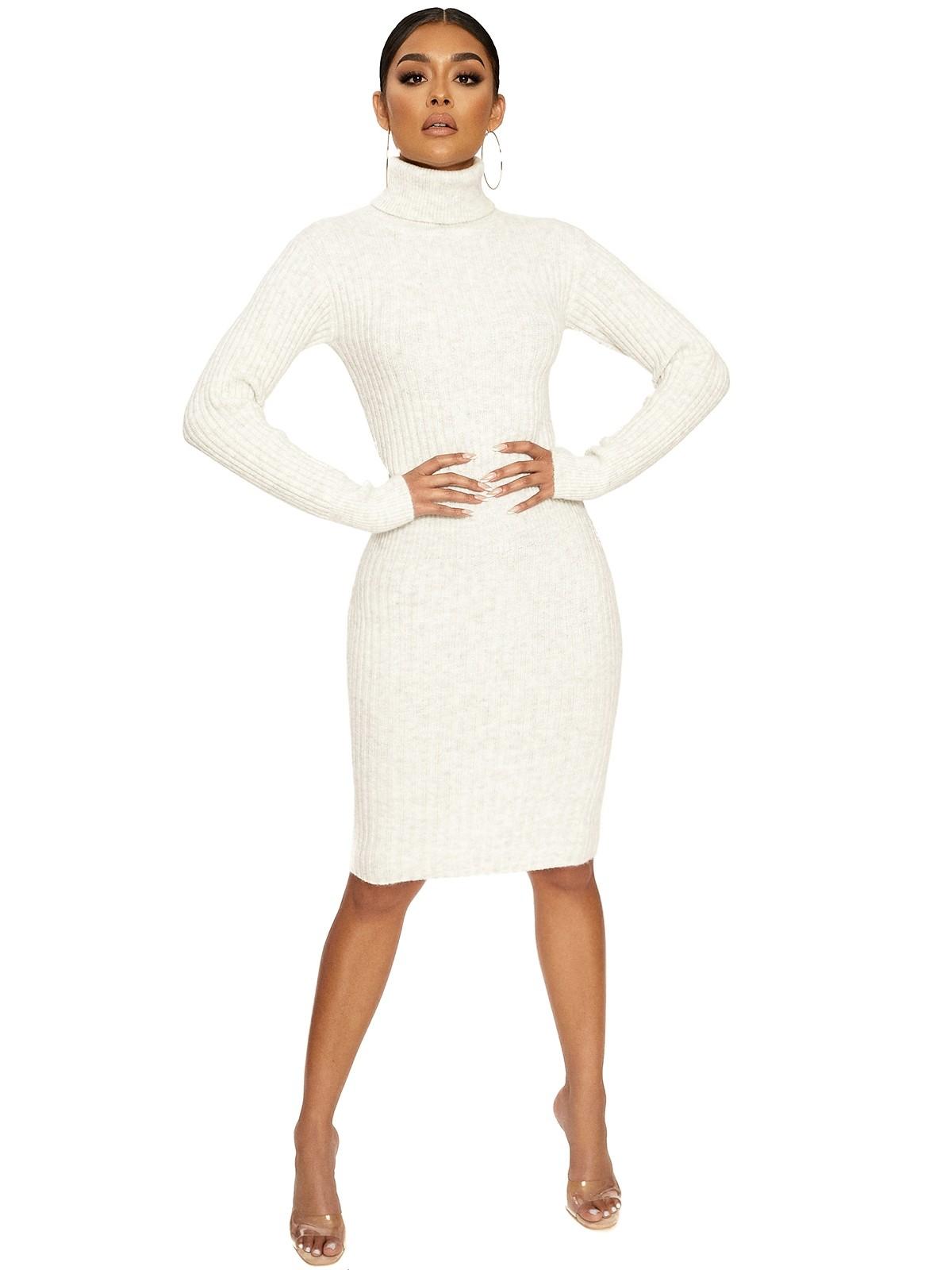 Seein' Knit My Way Ribbed Dress by Naked Wardrobe, available on nakedwardrobe.com for $62 Kylie Jenner Dress SIMILAR PRODUCT