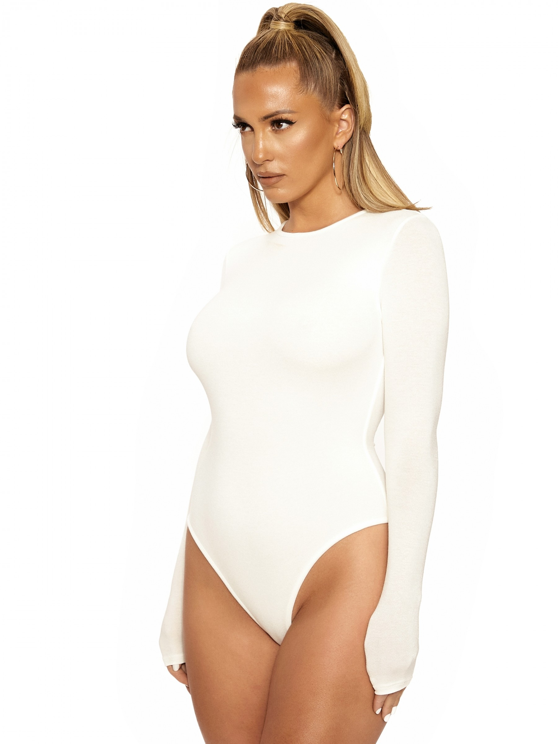 THE NW GOT U IN A BIND BODYSUIT by Naked-Wardrobe, available on nakedwardrobe.com for $42 Kylie Jenner Top Exact Product