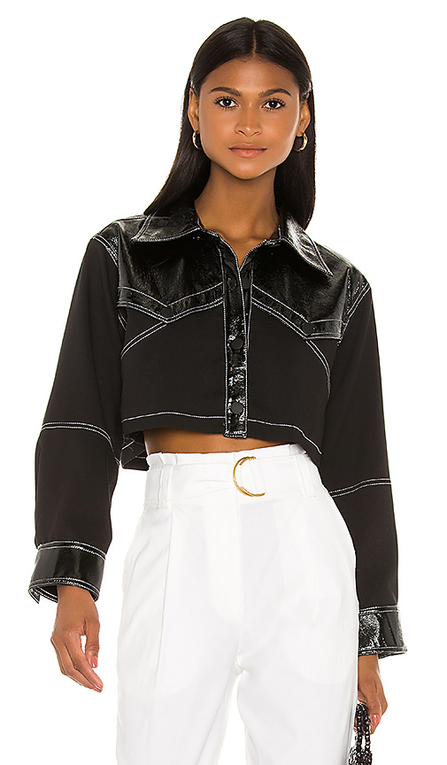 The Avelaine Top by L'Academie, available on revolve.com for $61 Kylie Jenner Outerwear SIMILAR PRODUCT