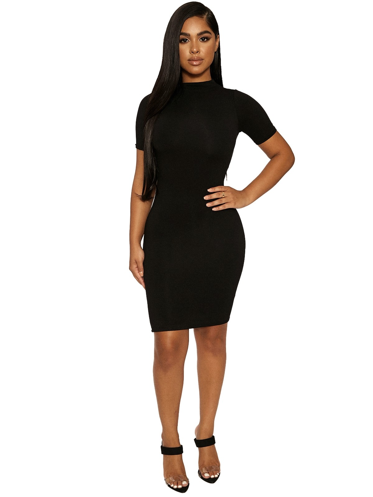 The NW Mini T Dress by Naked Wardrobe, available on nakedwardrobe.com for $45 Kylie Jenner Dress SIMILAR PRODUCT