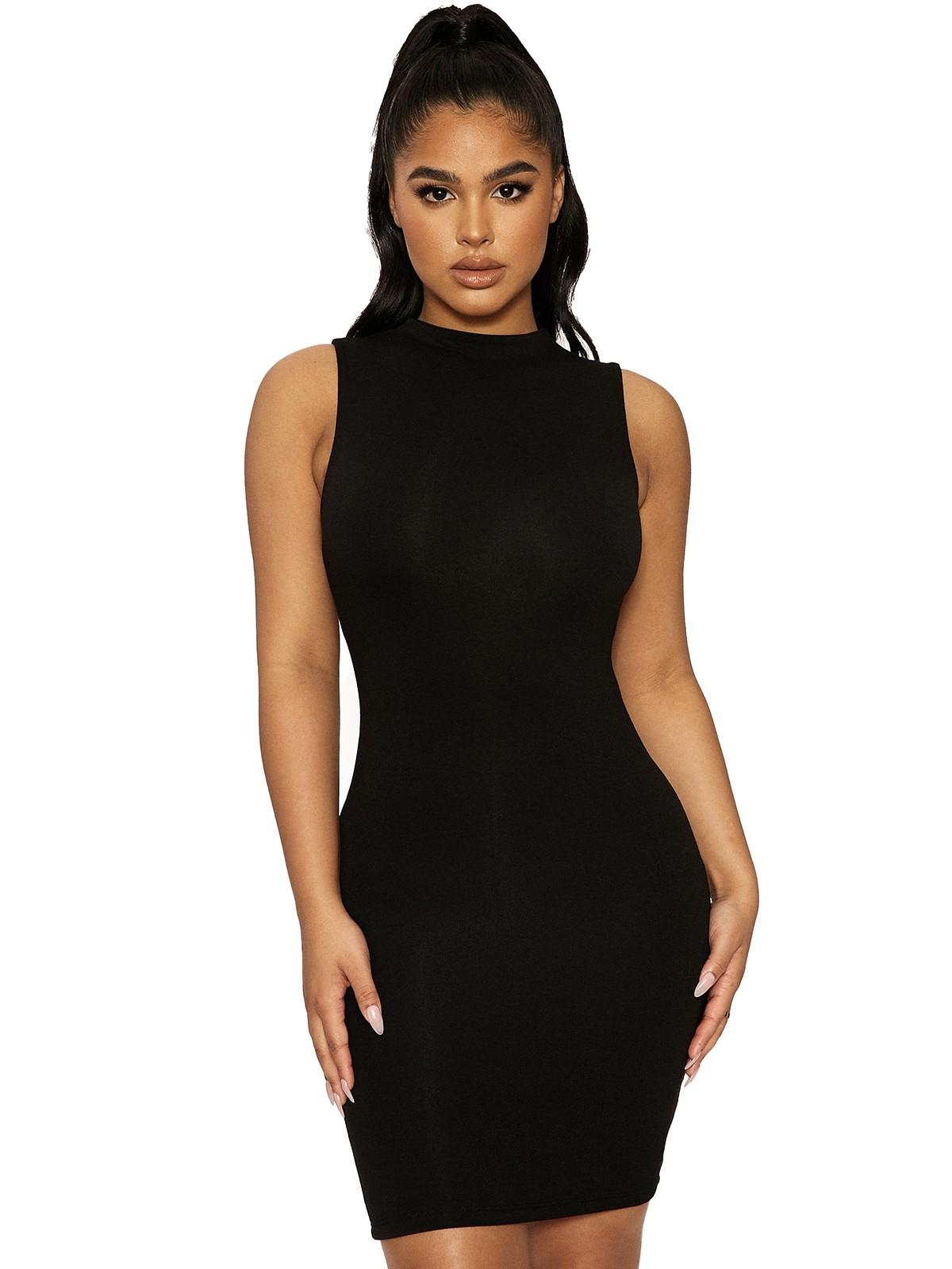 The NW Sleeveless Mini Dress by Naked Wardrobe, available on nakedwardrobe.com for $46 Kylie Jenner Dress SIMILAR PRODUCT