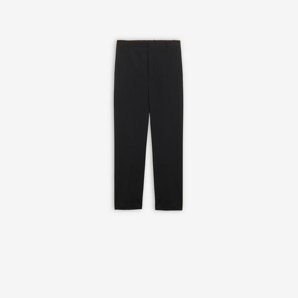 Uniform Pants  Black by Balenciaga, available on balenciaga.com for $1050 Kylie Jenner Pants SIMILAR PRODUCT