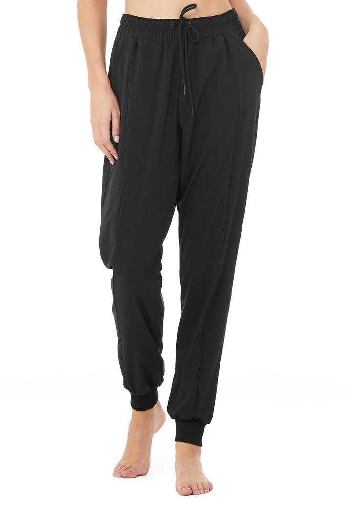 All Time Pant - Black by Alo Yoga, available on aloyoga.com for $108 Mila Kunis Pants SIMILAR PRODUCT