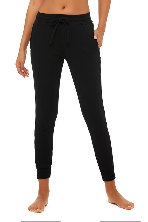 Unisex Rail Sweatpant - Black by Alo Yoga, available on aloyoga.com for $140 Mila Kunis Pants SIMILAR PRODUCT
