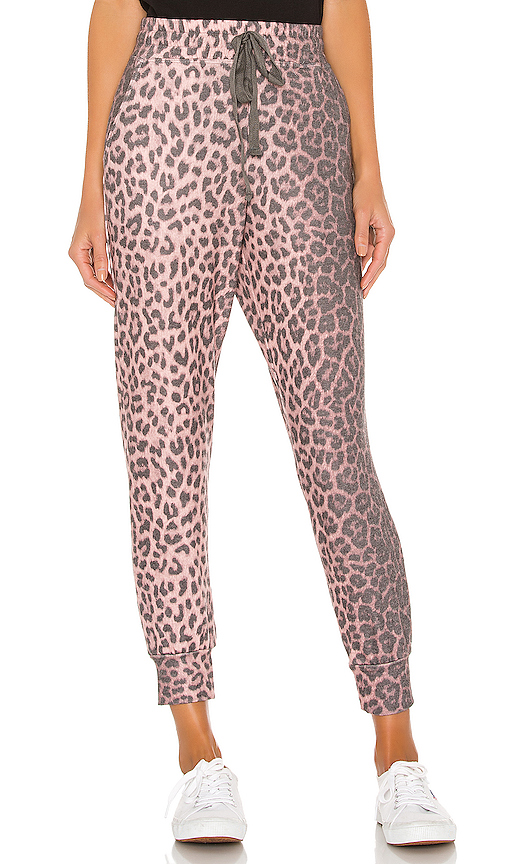Animal Print Pocket Jogger Pant by SUNDRY, available on revolve.com for $140 Naomi Campbell Pants SIMILAR PRODUCT