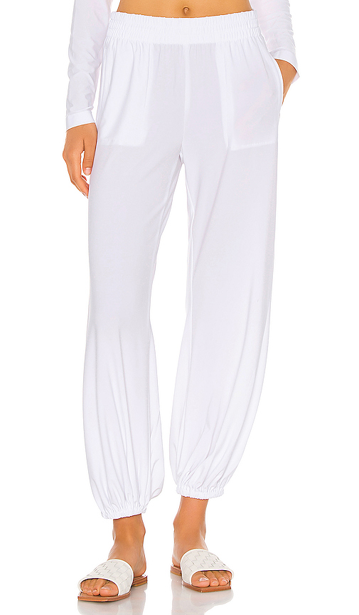 Boyfriend Puff Jog Pant by Norma Kamali, available on revolve.com for $155 Naomi Campbell Pants SIMILAR PRODUCT
