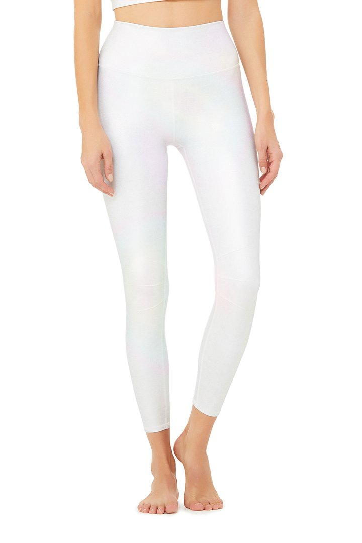 7/8 High-Waist Alo Brilliance Luminance Legging by Alo Yoga, available on aloyoga.com for $98 Natasha Oakley Pants SIMILAR PRODUCT