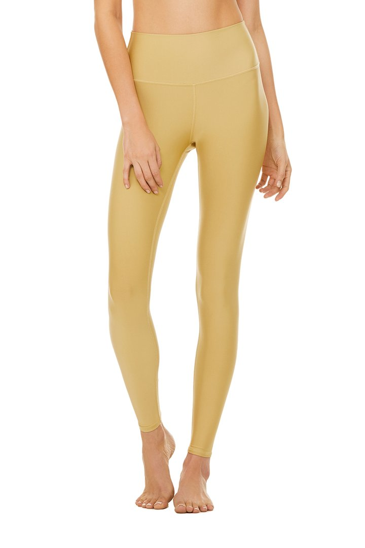 High-Waist Airlift Legging by Alo Yoga, available on aloyoga.com for $118 Natasha Oakley Pants SIMILAR PRODUCT